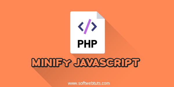 Minify Javascript using php
