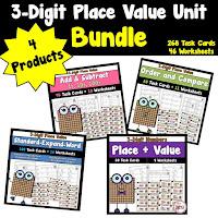 3 Digit Place Value Bundle Unit