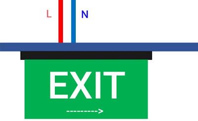 Cara Pasang Lampu Emergency Exit Sendiri Tanpa Teknisi