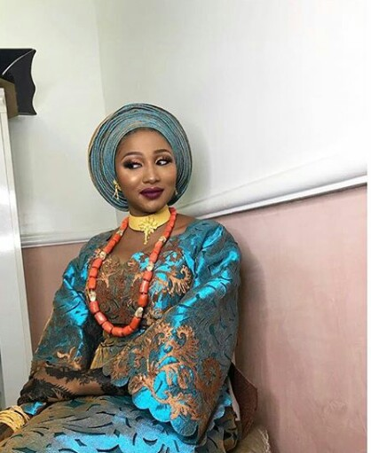 Check out the very expensive Komole outfits daughter of Minister for Justice wore for her wedding (photos)