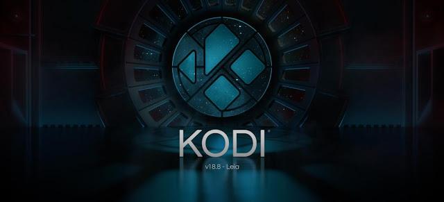 "Kodi ""Leia"" nova release 18.8"