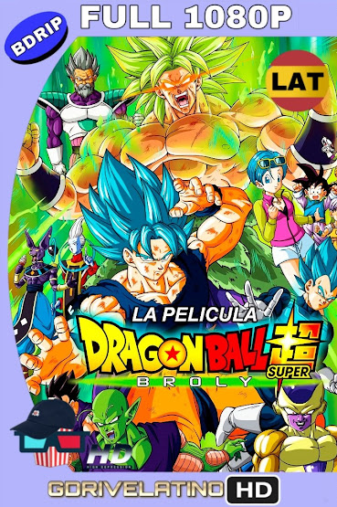 Dragon Ball Super: Broly (2018) BDRip 1080p Latino-Japones MKV