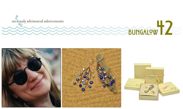 Meet Connie from Bungalow42 on Etsy. You'll love her seriously whimsical adornments!