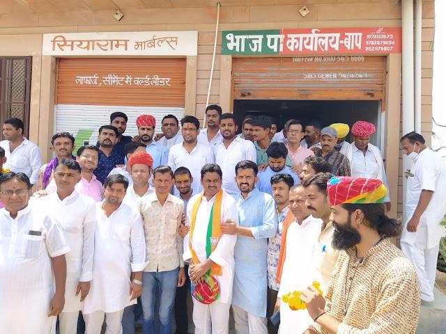 गहलाेत सरकार ने युवाओं व किसानों के साथ किया छल : हिमांशु शर्मा
