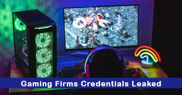 Gaming Firms Data Leak