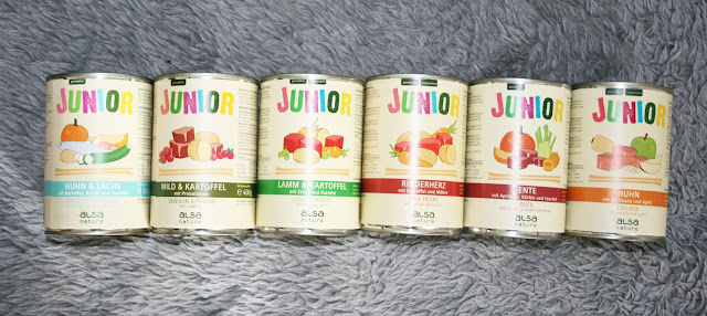alsa-nature Junior Dosen-Menü-Mix 400 g Dosen