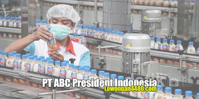 Lowongan Kerja PT. ABC President Indonesia Karawang