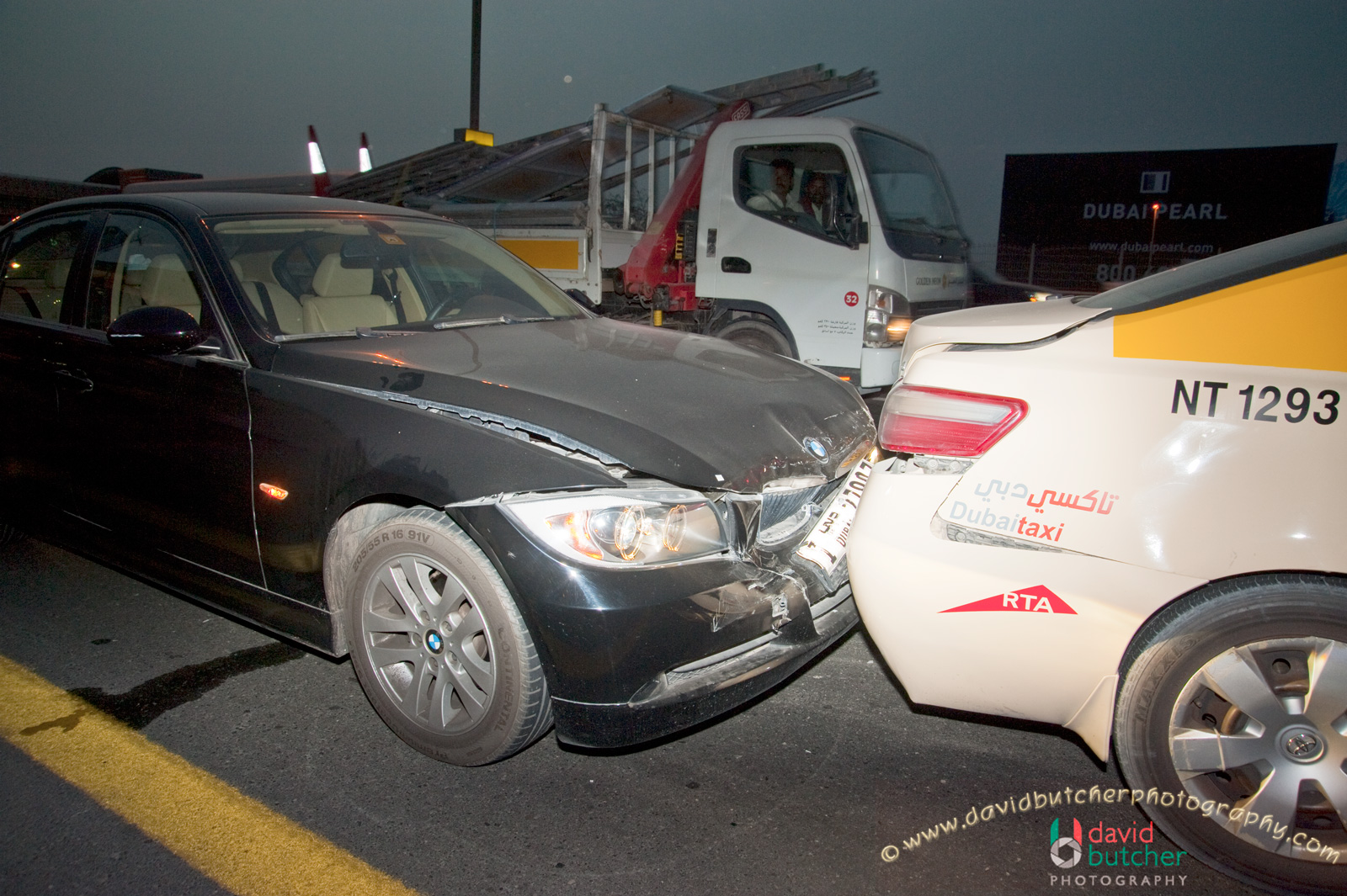 David Butcher Photography: Yet Another Car Accident :-(