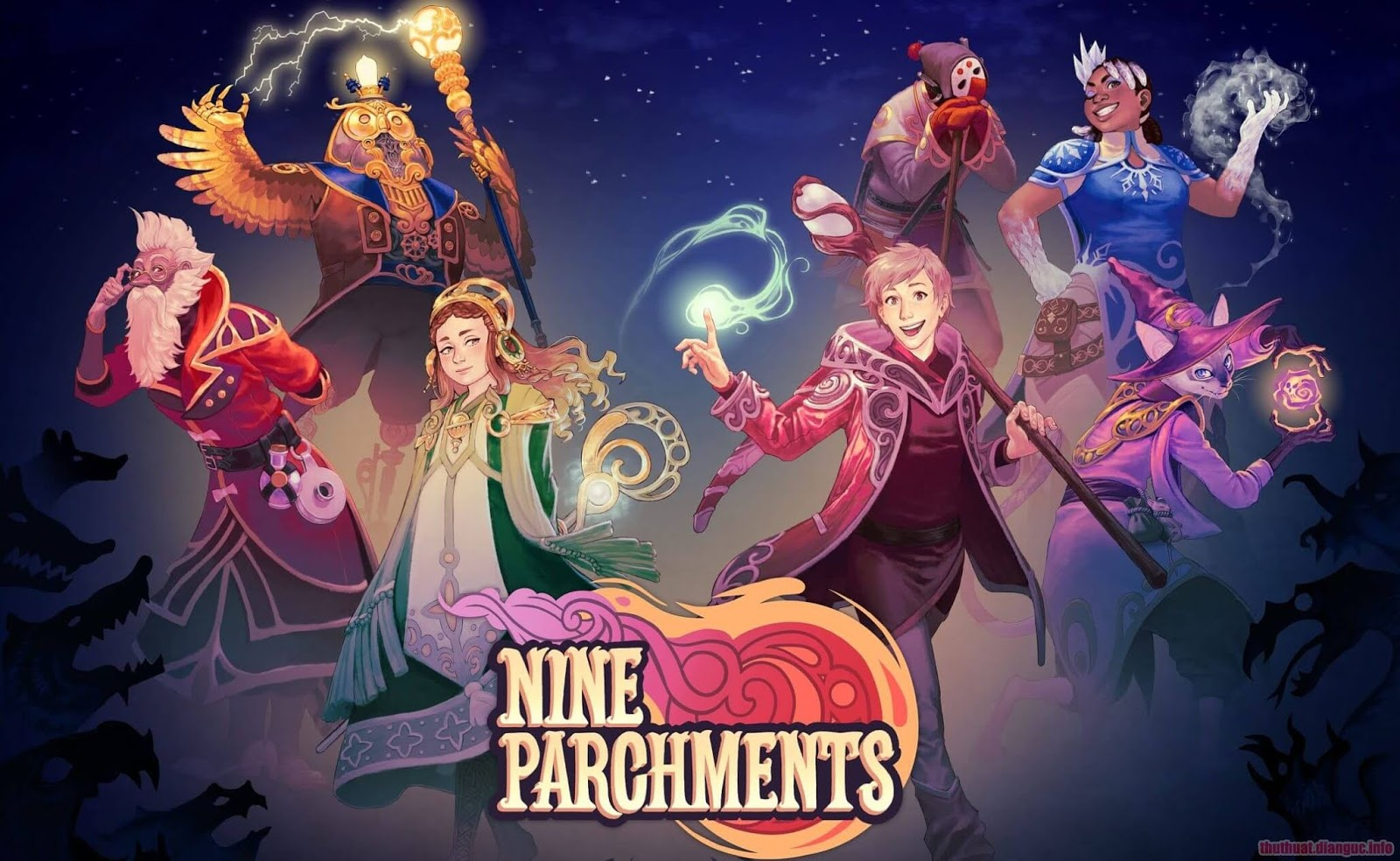 tie-smallDownload Game Nine Parchments Full Crack