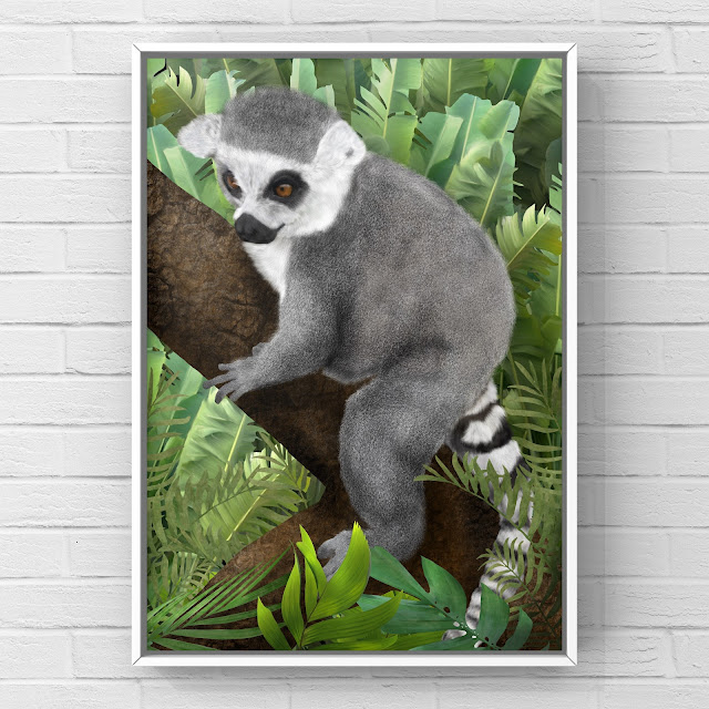 Ring Tailed Lemur by Mark Taylor