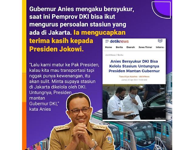Makna dan Sinyal di Balik Anies Bicara Presiden Dulunya Gubernur Jakarta