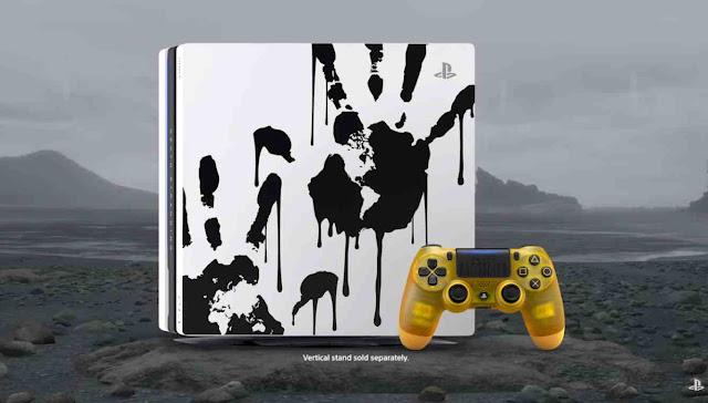 Game Death Stranding dari Hideo Kojima Mendapat Bundel PS4 Kustom