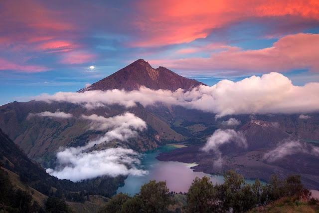 Asal Usul Gunung Rinjani Lombok