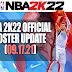 NBA 2K22 OFFICIAL ROSTER UPDATE 09.17.21 (SYNC BIN UPDATE)