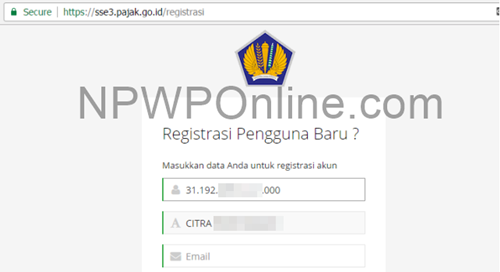 Trik Cek Nama Pemilik NPWP