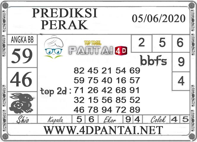 PREDIKSI TOGEL PERAK PANTAI4D 05 JUNI 2020