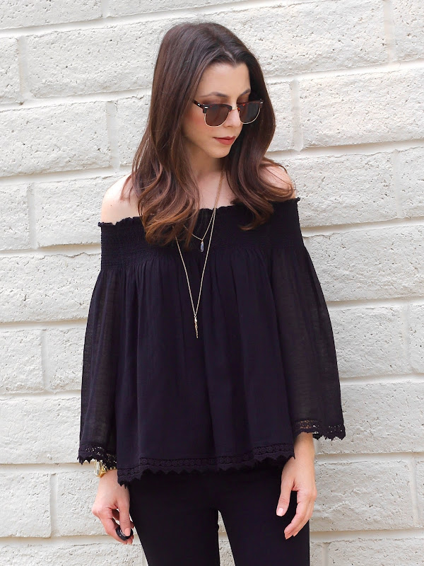 Zara Off-The-Shoulder Top