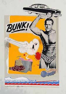 BUNK! Evadne in Green Dimension, Eduardo Paolozzi, 1952
