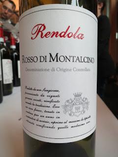Rendola Rosso di Montalcino 2009 - DOC, Tuscany, Italy (89 pts)