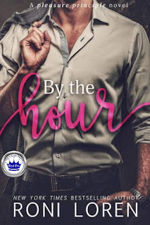 romance novel covers, contemporary romance, contemporary erotica, Royal Pick, By the Hour by Roni Loren
