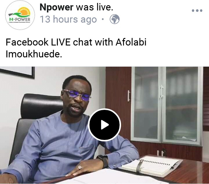 Summary of Mr Afolabi Imoukhuede Facebook live Chat (27th May, 2019)