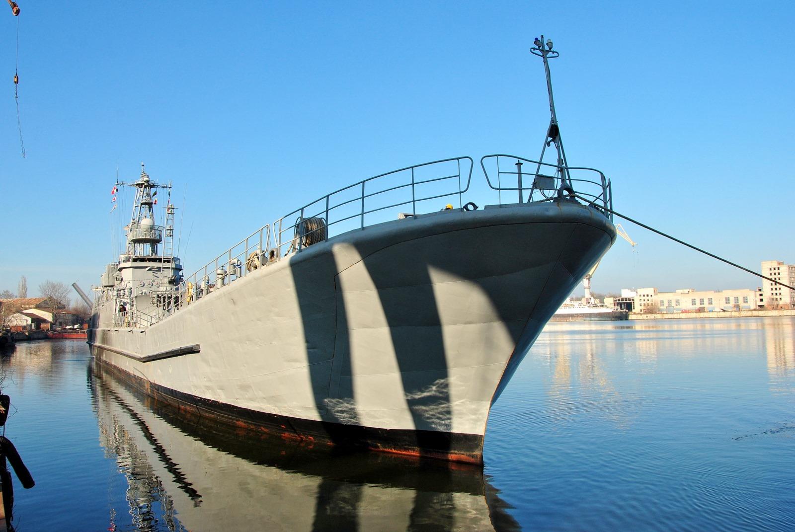 Десантний корабель Юрій Олефіренко вийшов з ремонту
