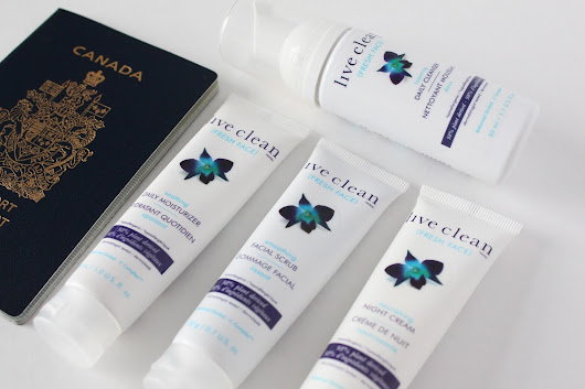 Live Clean Giveaway: Facial products & Travel friendly solutions