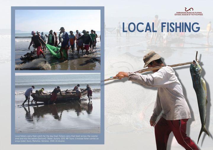 local fishing Filipino fisherman