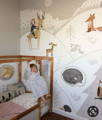 5 Wallpaper Kamar Anak Perempuan Minimalis Pilihan