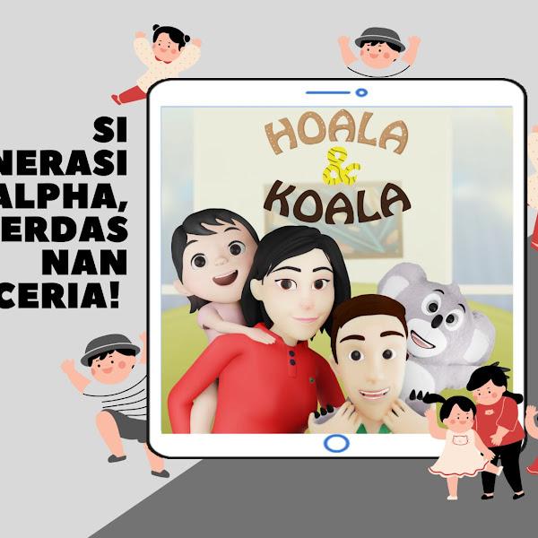 Mengenal Lagu Anak Indonesia, Bareng Hoala & Koala, Si Anak Generasi Alpha Cerdas nan Ceria