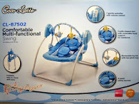 Baby Swing CocoLatte CL-B7502 Comfortable Multi-functional Swing