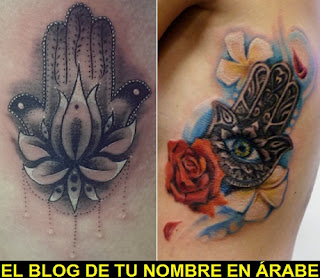 Tatuajes de la Mano de Fatima
