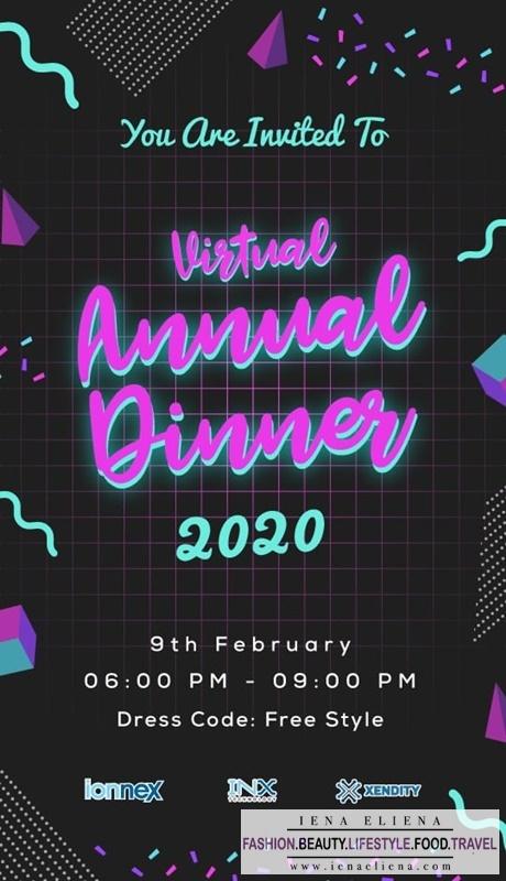 Gambar OOTD Virtual Annual Dinner