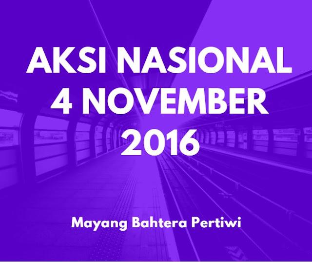 Aksi Nasional 4 November 2016 - Mayang Bahtera Pertiwi