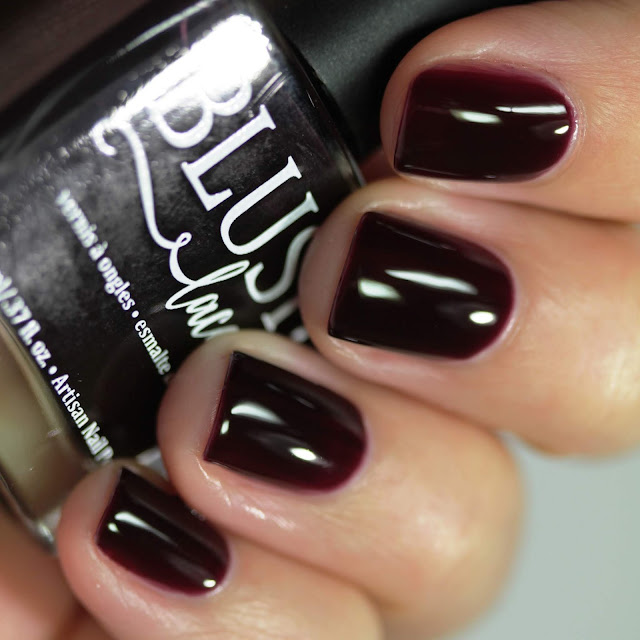 BLUSH Lacquers Nightfall swatch by Streets Ahead Style