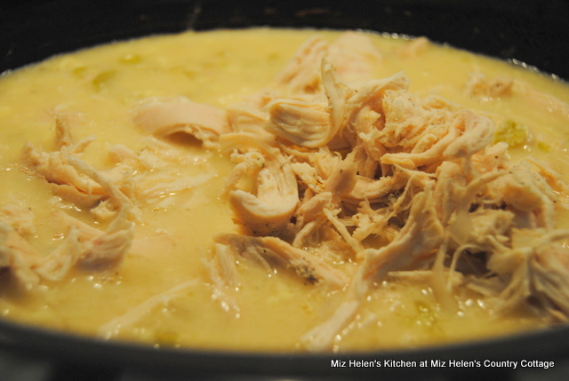 Slow Cooker Chicken and Dumplings at Miz Helen's Country Cottage