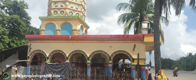 Side view of Dandakali Temple Khantapada - Balasore
