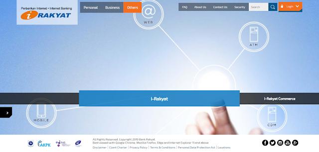 Cara Semak Baki Akaun Bank Rakyat Secara Online