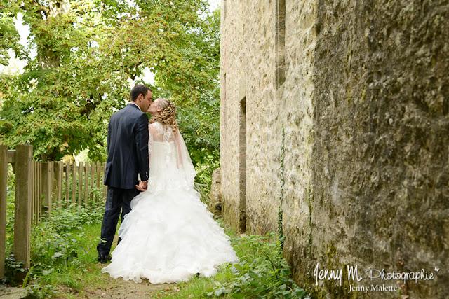 séance photos couple after day mariage bisous des mariés
