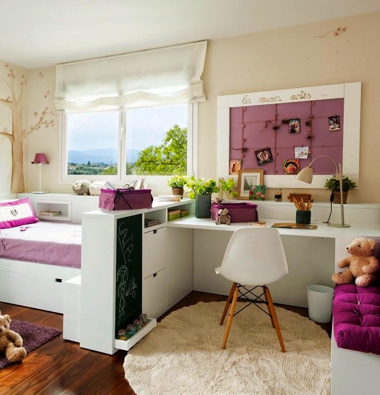 Dormitorios y habitaciones decoraci n y dise o de - Dormitorio pequeno juvenil ...