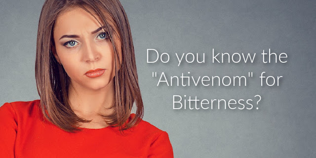 Bitterness always justifies itself. This 1-minute devotion shares the ways bitterness destroys and offer the Bible's antivenom to combat it.