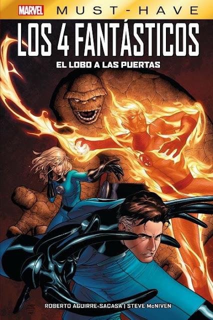 Reseña de Marvel Must-Have. Los 4 Fantásticos: El lobo a las puertas, Panini Comics