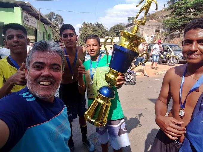 Santo André vence Caldeiraria na decisão e fica com a taça do Fabricianense de Juniores