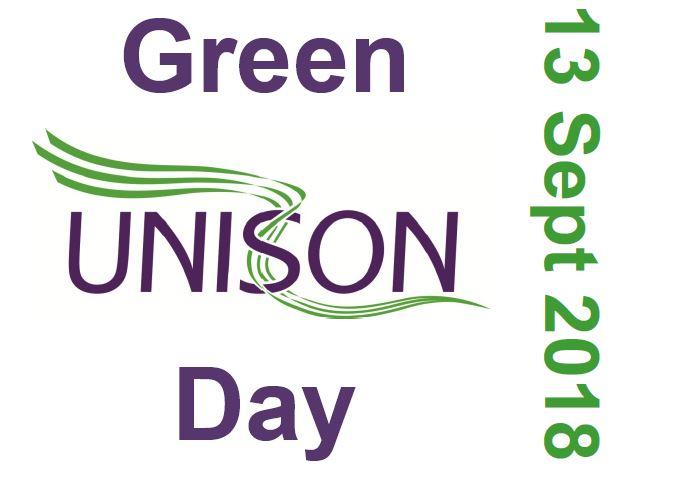 UNISON Scotland: Update for Green UNISON Day 13 September