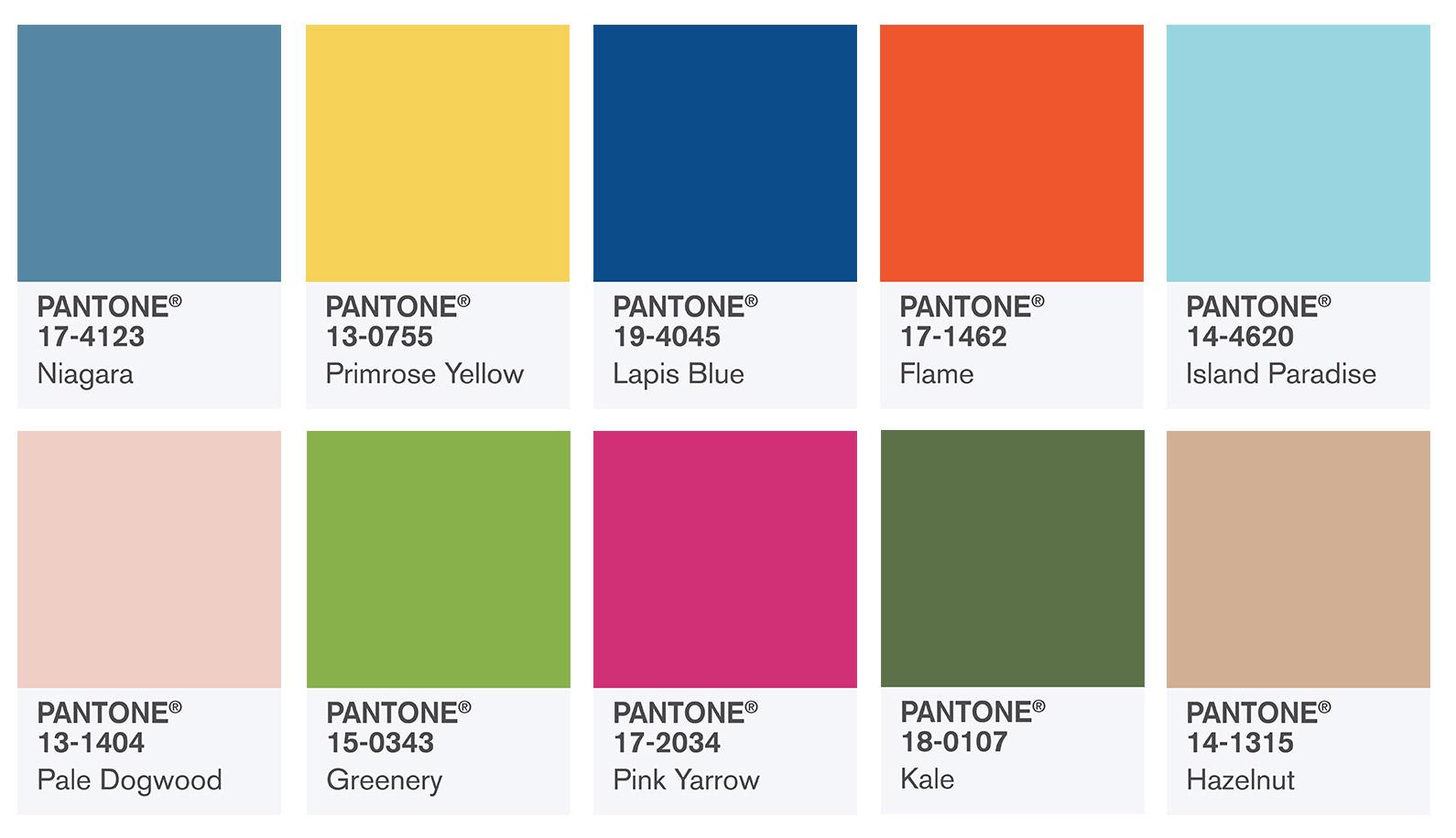 Pantone Fashion Color Report Spring 2017: Presentación - Confesiones ...