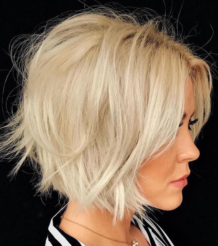 New Short Bob Haircut & Hair color Ideas for Ladies ...