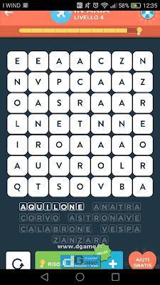 WordBrain 2 soluzioni: Categoria In Aria (7X7) Livello 4
