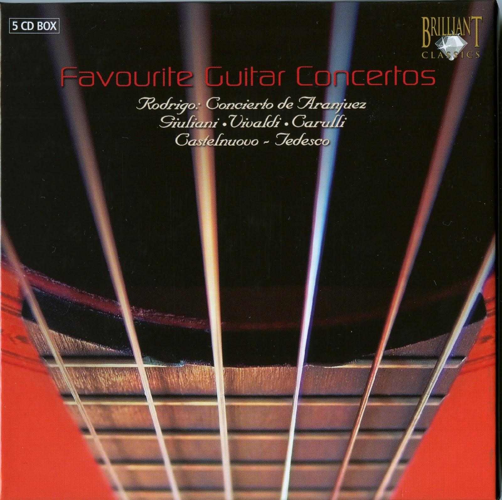 Diabolus In Musica: Favourite Guitar Concertos - Box Set 5CDs