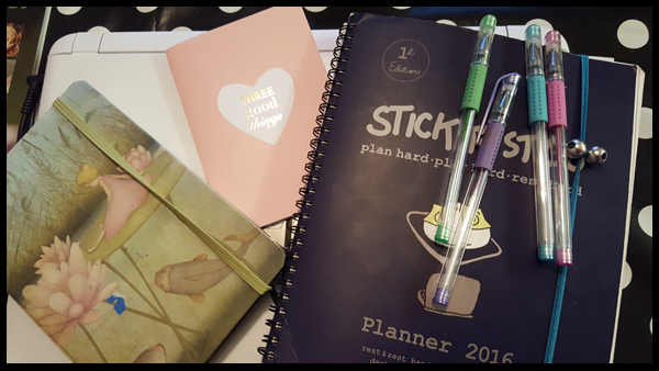 My current stationery