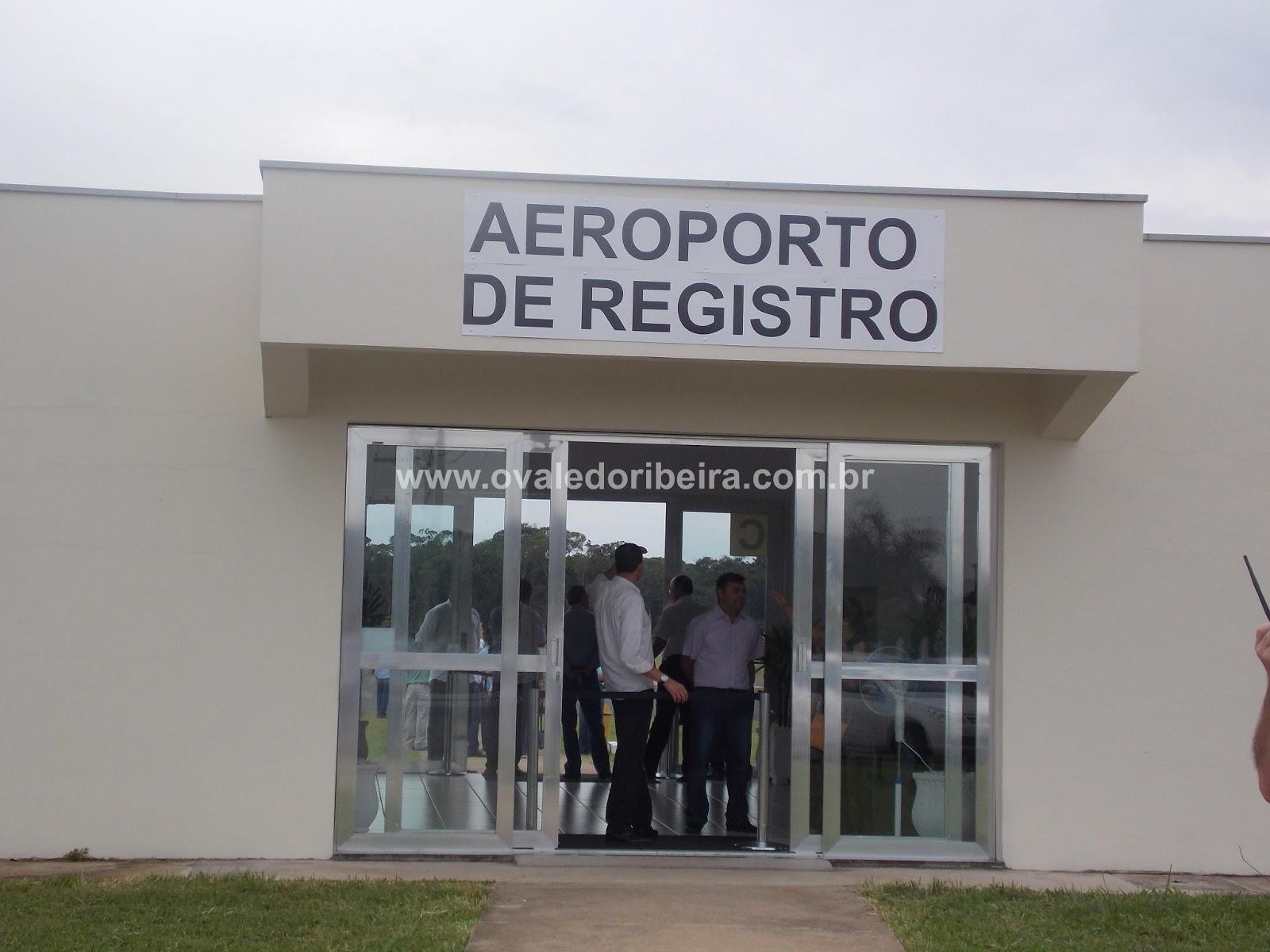 Aeroporto Sp : Aeroporto de registro sp fotos da inauguração o vale do ribeira